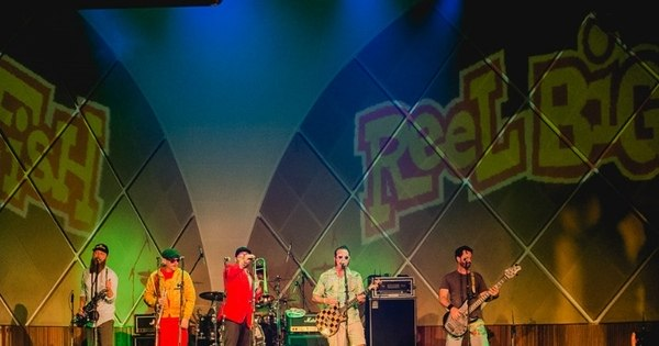 Reel Big Fish revive o ska-punk dos anos 90 em SP - Fotos - R7 Pop