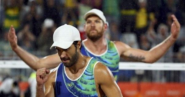 Alison e Bruno batem italianos e Brasil iguala recorde de medalhas ...