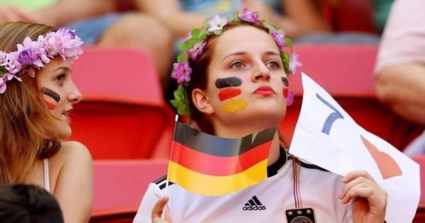 Ainda sob a lembrança do 7 a 1, Alemanha pinta outra vez para ...