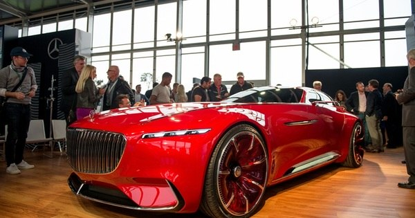 Magnata do futuro: Mercedes-Benz apresenta o Vision Maybach 6 ...