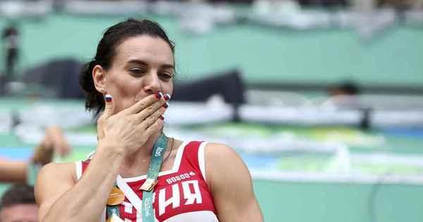 Impedida de participar da Rio 2016 por esquema de doping, Yelena ...