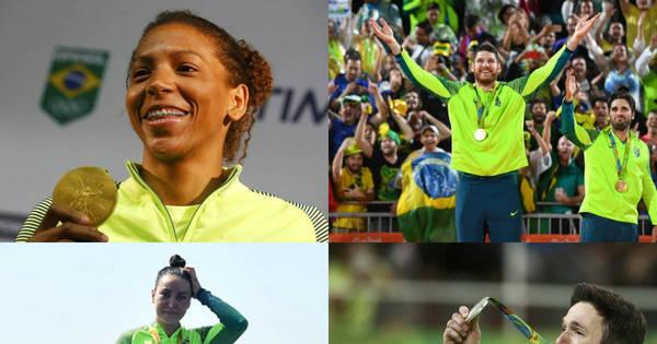 Olimpíadas da superação! Veja os atletas brasileiros que deram a ...