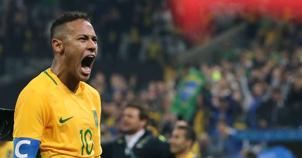 Ouro para o Brasil! Neymar alcança feito que grandes craques do ...