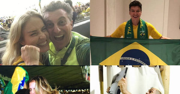 Famosos comemoram medalha de ouro inédita para o futebol ...
