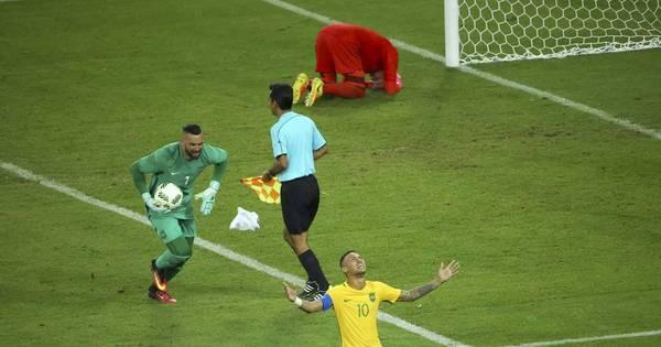 Neymar conquista ouro olímpico com quatro anos de atraso - Rede ...