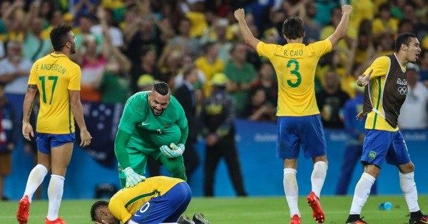 É ouro! Brasil bate Alemanha nos pênaltis e fica com a sonhada ...
