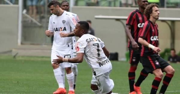 Atlético-MG derrota o Atlético-PR e sobe para vice-liderança ...