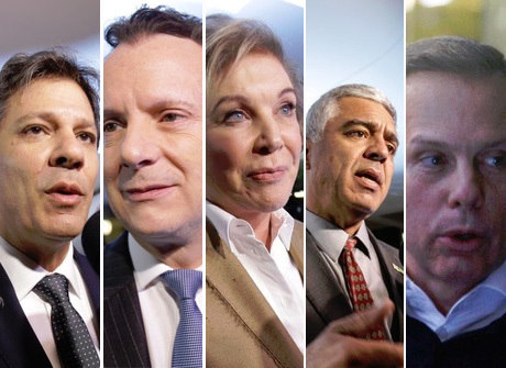 Candidatos à Prefeitura de SP participam de 1º debate na TV
