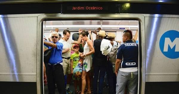 Com fim dos Jogos, linha 4 do metrô fecha para manutenção até ...