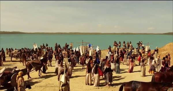 Josué inicia travessia do povo hebreu pelo Rio Jordão ...