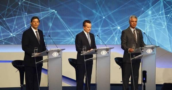 Debate teve candidato ao relento, alfinetadas e climão entre ex ...