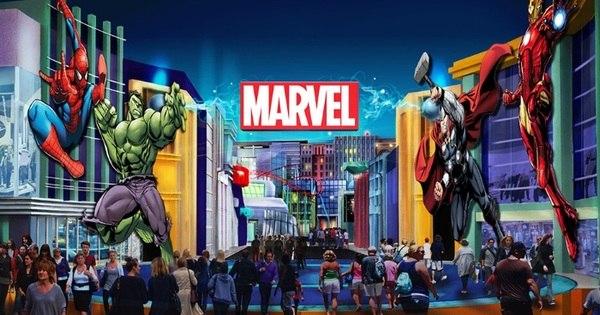 Homem- Aranha e Hulk juntos! Maior parque de diversões coberto ...