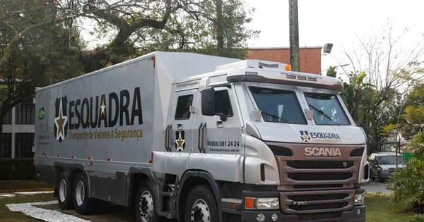 R$ 600 mil cada: Scania vende três caminhões blindados que ...