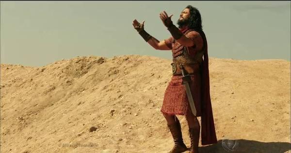 Josué e o povo hebreu completam a travessia pelo Rio Jordão ...