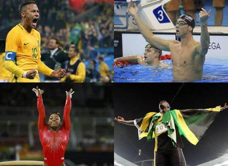 Neymar fica para trás entre os atletas mais comentados na web