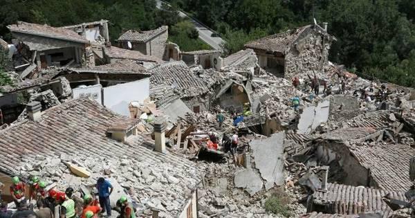 Terremoto na Itália matou pelo menos 120 pessoas, diz primeiro ...