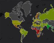 Site mapeia tamanho do pênis ao redor do mundo