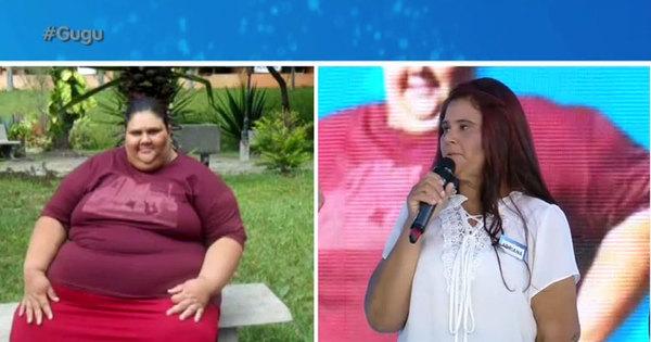 """Após ficar entre a vida e a morte, mulher emagrece 133 kg: """"Eu não ..."""
