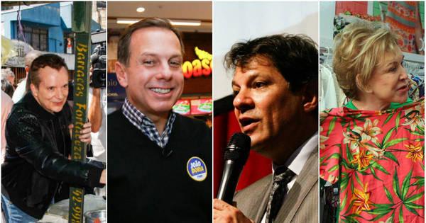 Veja fotos da quinta-feira de campanha dos candidatos à Prefeitura ...