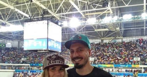 Ex-BBBs Aline Gotschalg e Fernando Medeiros mostram ...