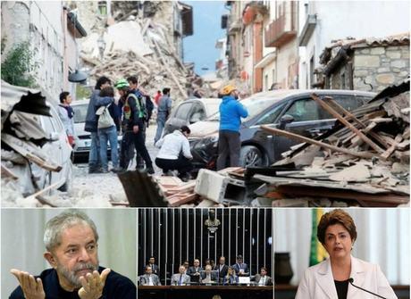 Semana teve Lula indiciado, decisão em Brasília e terremoto