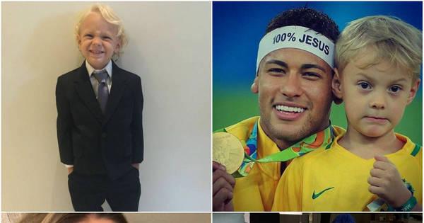 Fofura! Se encante com 15 fotos de Davi Lucca, filho de Neymar e ...