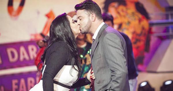 Fabíola Gadelha beija pretendente no Vai Dar Namoro - Fotos - R7 ...