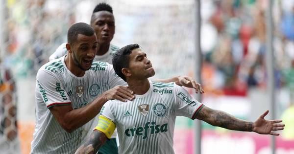 Palmeiras vence o Fluminense em Brasília e se isola na liderança ...