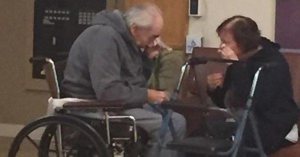 O choro do casal de idosos canadense obrigado a viver separado ...