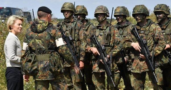 Infiltração extremista: exército alemão diz que mais de 60 militantes ...