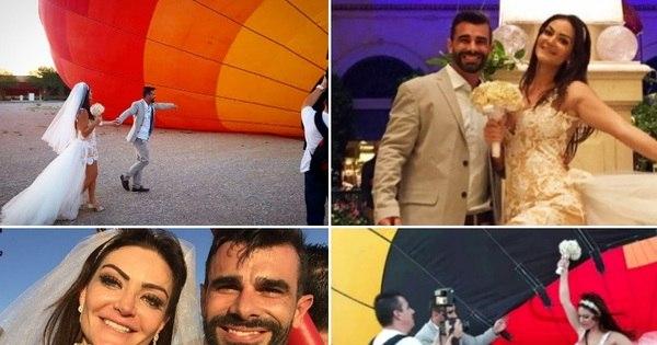 O grande dia chegou! Laura Keller e Jorge Sousa se casam em ...