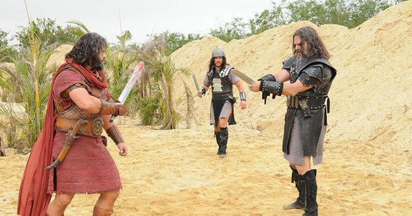 Uzi e Tobias são capturados pelos cananeus - Fotos - R7 A Terra ...