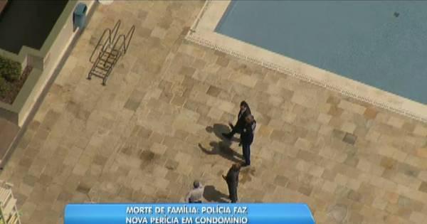 Polícia faz nova perícia em condomínio onde família foi encontrada ...