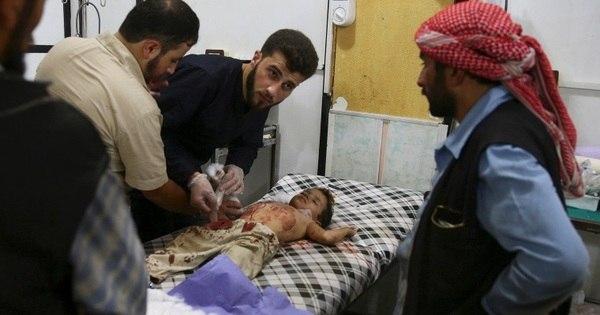 """Refugiados desabafam sobre drama das crianças na Síria: """"Saem ..."""