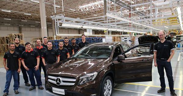 Mercedes-Benz começa a produzir o GLA no Brasil - Notícias - R7 ...