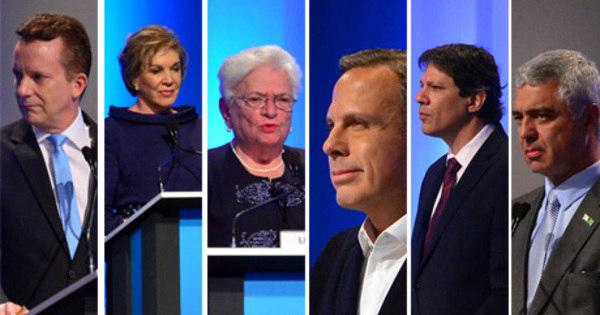 Temas nacionais marcam segundo debate entre candidatos à ...