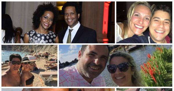 Você sabe com quem estes jornalistas são casados? - Fotos - R7 ...