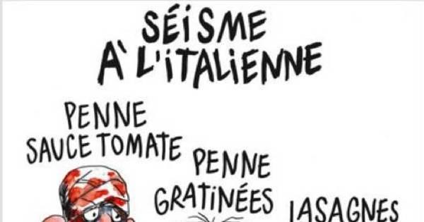 Charlie Hebdo faz charge de sismo na Itália e causa revolta ...