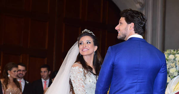 Ex-BBBs Kamilla Salgado e Eliéser se casam em cerimônia luxuosa ...