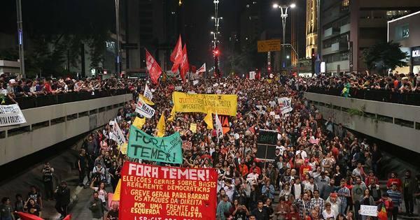 Manifestações contra Temer estão programadas em pelo menos 18 ...