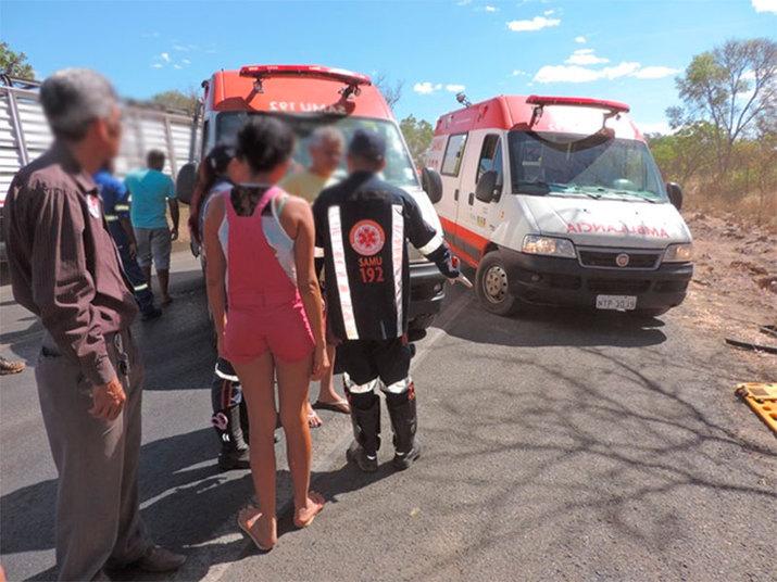 O Samu (Serviço de Atendimento Médico de Urgência) prestou os primeiros socorros aos feridos. Eles tiveram ferimentos leves e foram encaminhados para a UPA (Unidade de Pronto Atendimento) de Luís Eduardo Magalhães