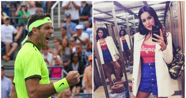 Enquanto Del Potro arrasa nas quadras, ex- namorada do tenista ...