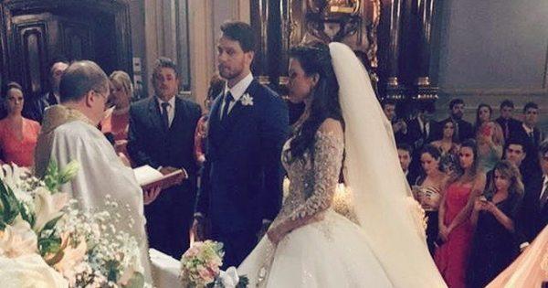Convidados divulgam detalhes do casamento de Kamilla Salgado e ...