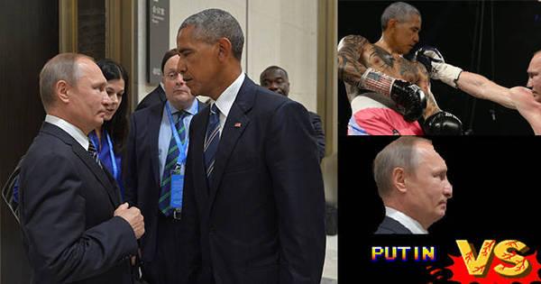 Encarada de Putin e Obama cria guerra de memes na internet ...