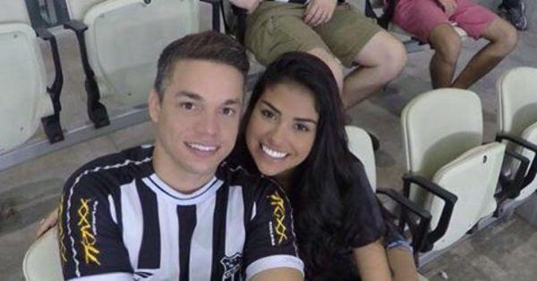 Ex- BBB Munik Nunes assiste a jogo de futebol com namorado e ...