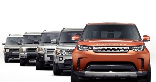 Land Rover mostra primeira foto do novo Discovery - Notícias - R7 ...