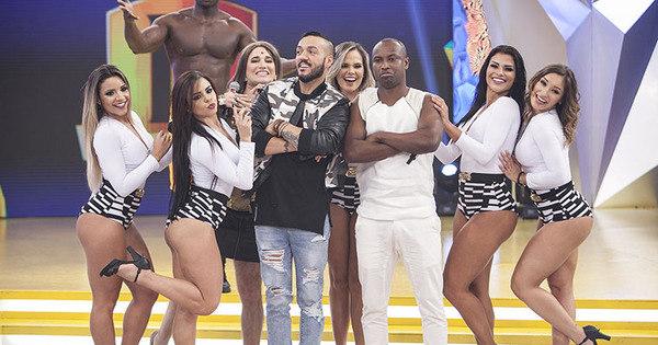 Thiaguinho e Belo cantam juntos em encontro inédito na TV - Fotos ...