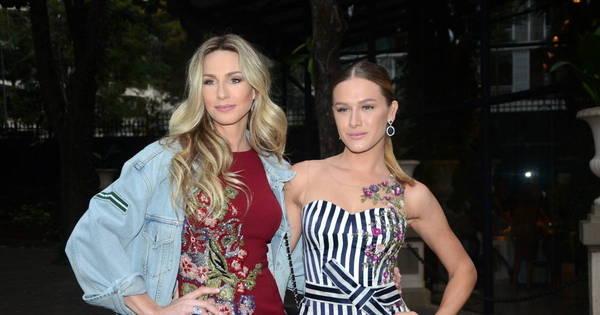 Mariana Weickert e Fiorella Mattheis esbanjam estilo em evento de ...