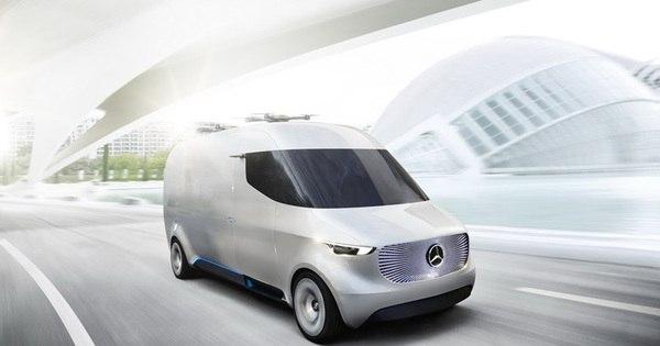 Mercedes-Benz mostra van do futuro com motor elétrico, condução ...