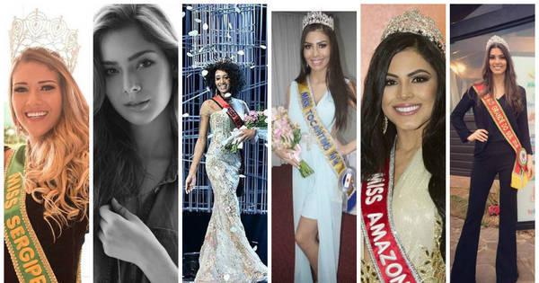 Conheça as candidatas que estão na disputa pelo Miss Brasil 2016 ...